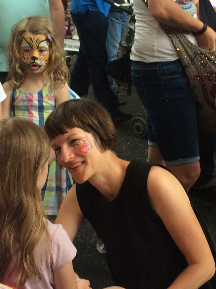 Community FITS facepainting